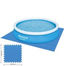 Bestway medence alátét polifoam 50 x 50 cm, kék, 9 db/cs