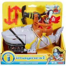 Imaginext Kalózos játékszett - Mega cápa ágyúval