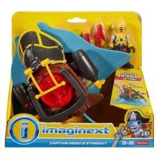 Imaginext: Kalózos játékszett - Némó kapitány és a harci rája