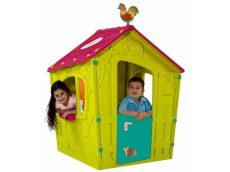 Keter MAGIC PLAYHOUSE műanyag kerti játékház, világoszöld/lila