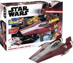 Revell 06770 Star Wars Resistance A-wing Fighter, red 1:44