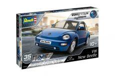 Revell 07643 Easy Click VW New Beetle autó modell készlet 1:24
