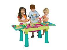 KETER CREATIVE FUN TABLE műanyag kerti játék asztal