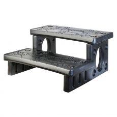 Lay-Z-Spa PE lépcső jakuzzihoz 70 × 65 × 34 cm ( 2 fokos)