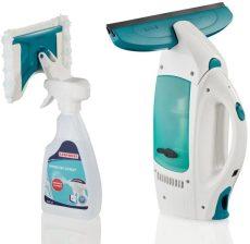Leifheit 51021 Dry&Clean ablaktisztító + 2 az 1-ben ablakspray