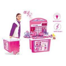 G21 Játék összecsukható konyha - rózsaszín