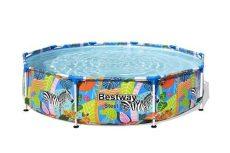 Bestway Tropical fémvázas medence 305 x 66 cm